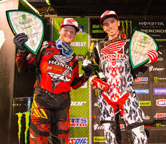 motocross matchup pro life in the fastlane motocross riders cole seely and trey canard