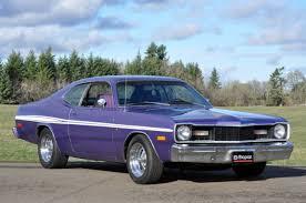 dodge dart plymouth 1975 dodge dart plum purple sport rally stripes cragers