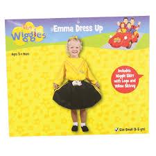 the wiggles emma dress up size 3 5yrs mr toys toyworld