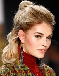 Halb Hochsteckfrisurenen Mittellange Haare by Fünf Schnelle Frisuren Für Mittellanges Haar