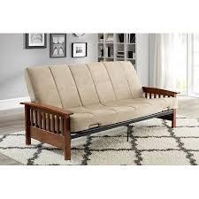 alessa futon frame black walmart com interesting wallmart