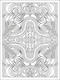 printable 42 geometric coloring pages 9742 difficult geometric