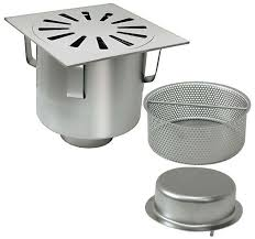 siphon cuisine inox siphon de sol en acier inox rond carré pour cuisine p 076