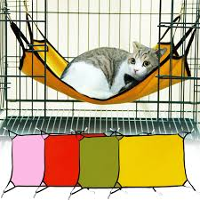 1 pcs portable pet sleeping hammock cat hammock dog hammock cat