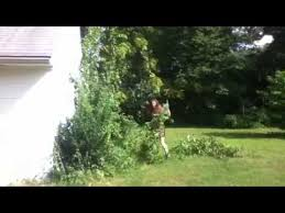 How To Cut Weeds In Backyard Kate Uses A Katana To Cut Weeds In A Sun Dress Youtube