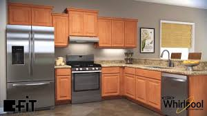 whirlpool under cabinet range hood fit system by whirlpool youtube