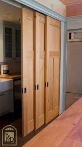 Sliding Closet Door Panels 3 Panel 3 Track Hollow Sliding Closet Doors The Style Design