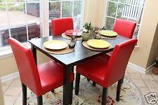 Red Dining Room Chair Dining Furniture Sets Ebay