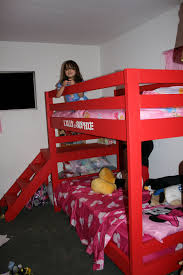 Ana White Camp Loft Bed With Stair Junior Height Diy Projects by Ana White Modified Camp Loft Bed W Bottom Bunk Diy Projects