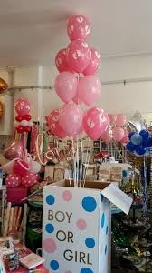 balloons in a box gender reveal gender reveal celebrations party supplies auckland pixie party