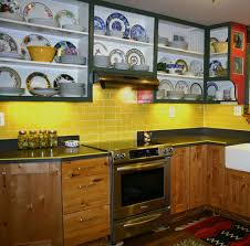 yellow kitchen backsplash ideas residential kitchen backsplash in lyric now 3 x 6 subway tile