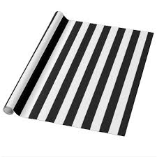 black and white striped wrapping paper black and white solid stripes wrapping paper zazzle ca