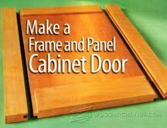 Cabinet Door Plans Woodworking Build Your Own Custom Raised Panel Cabinet Doors For Your Home Or