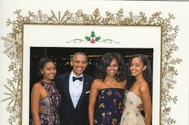 president barack obama breaks with tradition using family photo