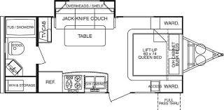 Floor Plan Finder 2008 Cruiser Rv Fun Finder X X 210 Wbs Travel Trailer Tucson Az