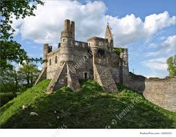 picture of ruins of medieval castle