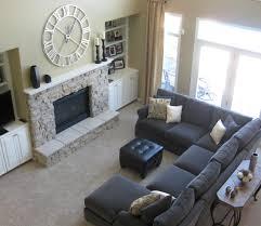 Living Room Cream Color Leather Sofa Modern Small Corner Ftfpgh - Small modern sofa