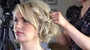 braided pinup hairstyles wedding hair braided bun pin up hair youtube