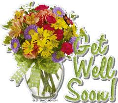 get well soon flowers get well soon flower bouquet holder graphic images photos pictures