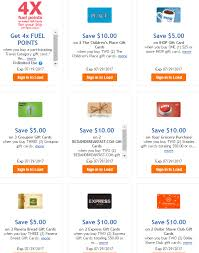 up to 20 discount on gift cards at kroger stack with 4x fuel