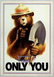 u s forest service graphics smokey bear special collections