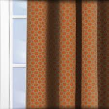 Burnt Orange Curtains Sale Fryetts Honeycomb Burnt Orange Curtain Custom Curtains
