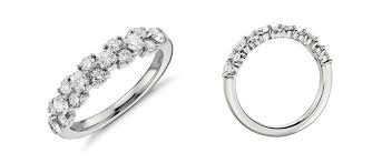 Difference Between Engagement Ring And Wedding Band by A Little Lesson The Difference Between Anniversary And Eternity Rings
