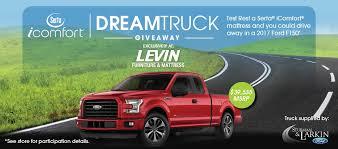 serta dream truck rules levin furniture