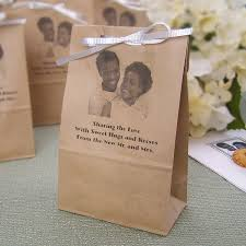 personalized goodie bags 4 x 8 personalized photo paper party favor bags