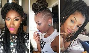 what kind hair use boxbraids 50 box braids hairstyles that turn heads stayglam