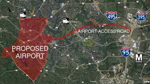Iad Airport Map Dulles Airport Was Originally Supposed To Be In Burke But