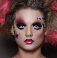 25 cracked doll makeup ideas scary doll