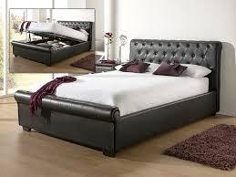 Ottoman Bed Black Eleanor Black Ottoman Bed At Mattressman