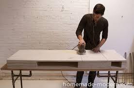 Flip Top Vanity Table Homemade Modern Ep30 The Flip Desk