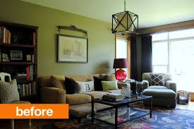 Small Space Living Part 2 by Small Space Living Room Makeover Before And After Home Decor Ideas