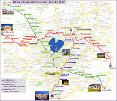 Hyderabad India Map by Subway Map Of Hyderabad U2022 Mapsof Net