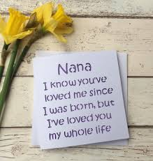 Homemade Gifts For Mom by Card For Nana Mothers Day Card Mothers Day Nana Nana Birthday