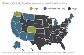 Medical Marijuana Legal States Map by Polls Say People Want Legal Pot News Orlando Weekly
