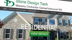 Home Design Vancouver Wa Stone Design Tech L Masonry Chimney Camas Vancouver Wa Youtube