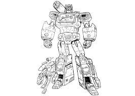 Transformers Colouring Pages Bebo Pandco Transformer Color Page