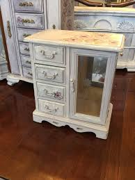Shabby Chic Jewelry Armoire by The 25 Best Jewelry Box Painted Ideas On Pinterest Jewelry