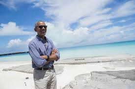 obama at desk exclusive obama says hawaii u2014and mom u2014shaped love of nature