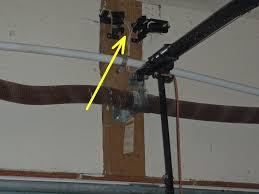 garage doors how to align garage door sensors steps with