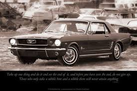 mustang car quotes motivational theme gregevansphotography
