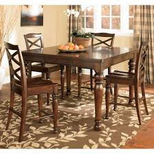 High Dining Room Sets by Porter Counter Height Dining Room Set Millennium Furniture Cart