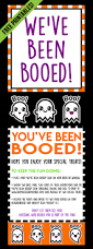 Halloween Printable Stories by You U0027ve Been Booed We U0027ve Been Booed Free Halloween Printables