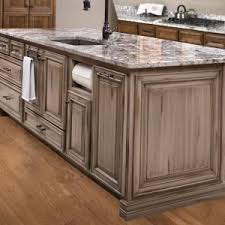 how to distress wood cabinets kitchen cabinets before after spaces dallas glen houston s