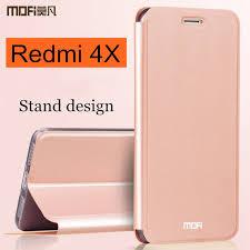 Xiaomi Redmi 4X case cover Redmi4x case flip cover back leather