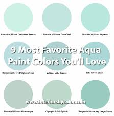 9 most favorite aqua paint colors you u0027ll love http www
