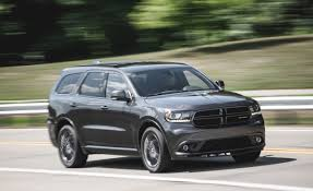 Dodge Durango Srt8 Price 2016 Dodge Durango R T Awd Test U2013 Review U2013 Car And Driver
